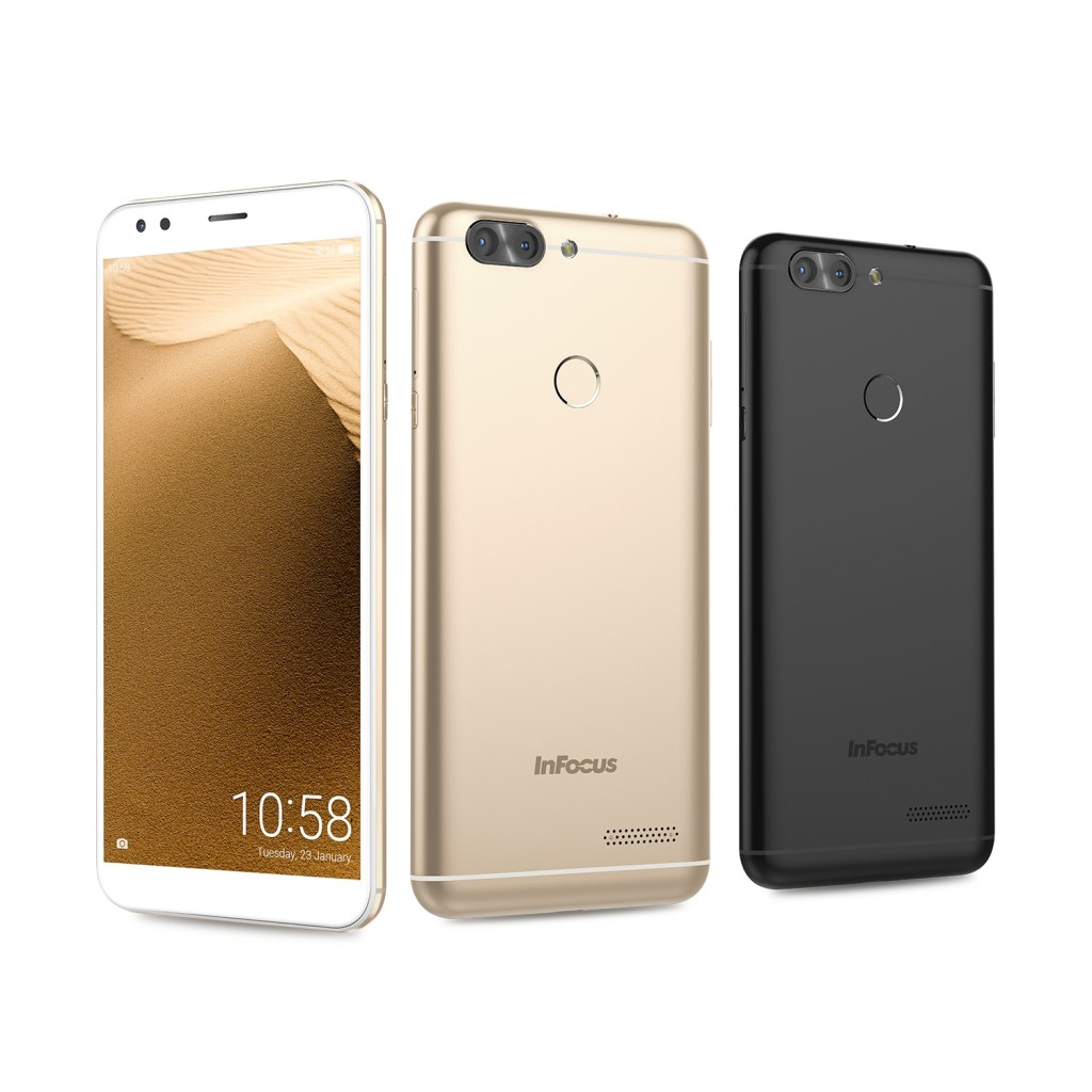 富可視 InFocus 18:9全螢幕手機 高性價比